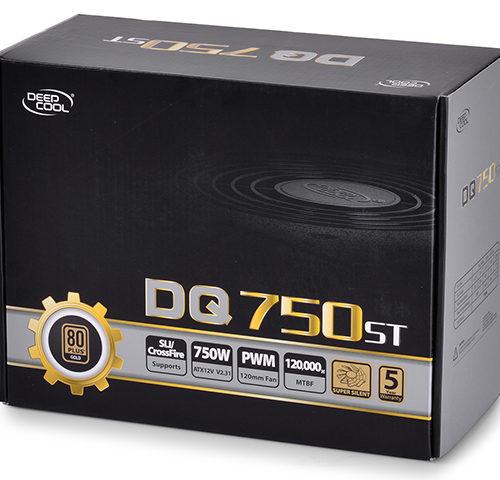 Deepcool DQ750ST 80PLUS GOLD 750 W, 744 W