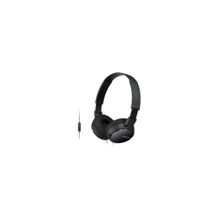 Sony MDR-ZX110APB.CE7 Headband/On-Ear, Microphone, Black