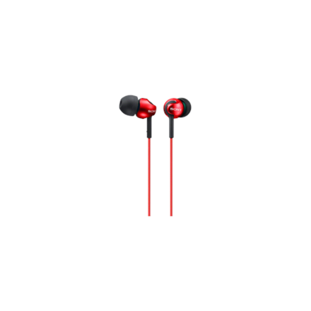 Sony MDR-EX110LPR 3.5mm (1/8 inch), In-ear, Red