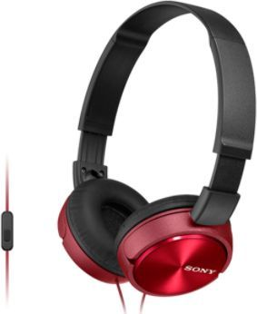 Sony MDR-ZX310APR headphones Stereo Headset, Red Sony