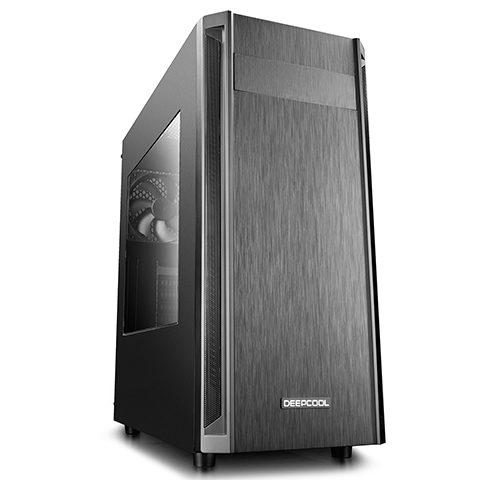 Deepcool D-Shield V2 Side window, Black, ATX, Power supply included No