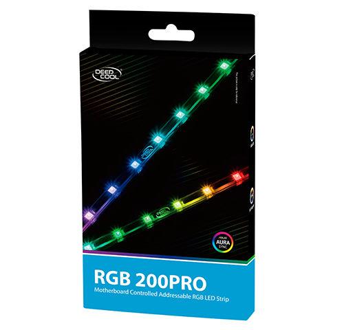 Deepcool Motherboard Controlled Addressable RGB LED Strip RGB 200 Pro