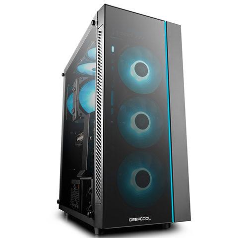 Deepcool MATREXX 55 Side window, E-ATX, Power supply included No