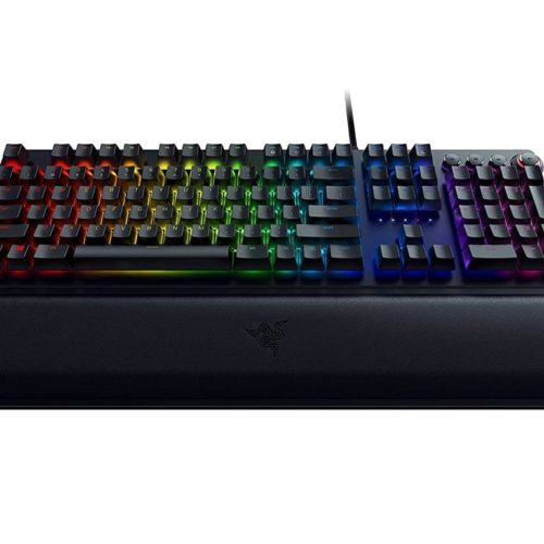 Razer Huntsman Elite, Gaming, US, Opto-Mechanical, RGB LED light Yes, Wired, Black
