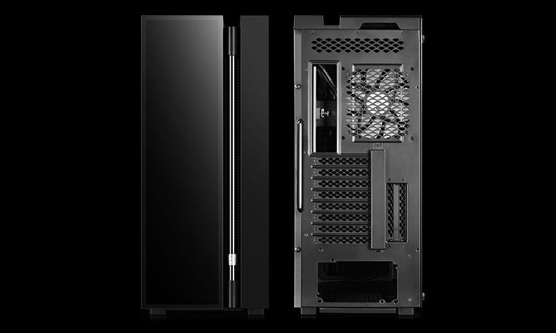 Deepcool NEW ARK 90MC Side window, Black, E-ATX, Power supply included No