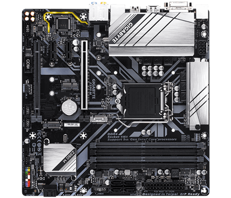 Gigabyte Z390 M Processor family Intel, Processor socket LGA1151, DDR4 DIMM, Memory slots 4, Chipset Intel Z, Micro ATX