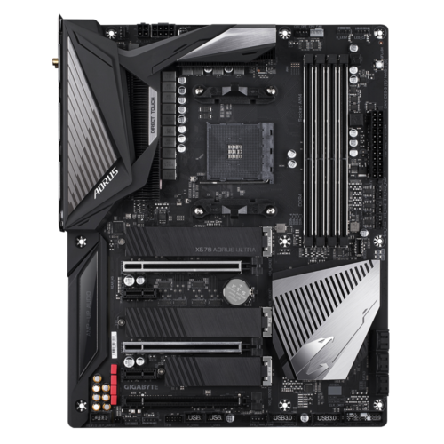 Gigabyte X570 AORUS ULTRA Processor family AMD, Processor socket AM4, DDR4, Memory slots 4, Number of SATA connectors 6 x SATA 6Gb/s connectors, Chipset AMD X570, ATX