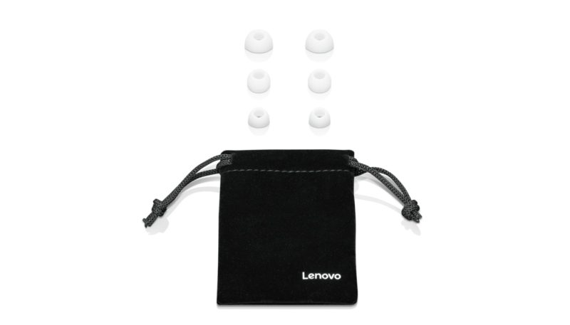 Lenovo Headphones 100 3.5mm (1/8 inch), In-ear, Microphone, White