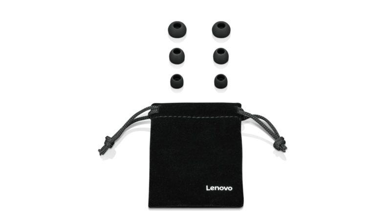 Lenovo Headphones 100 3.5mm (1/8 inch), In-ear, Microphone, Black