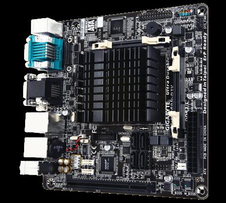 Gigabyte GA-N3160N-D3V Processor family Intel, Processor socket Intel SoC, DDR3 SO-DIMM, Memory slots 2, Chipset Intel C, Mini ITX