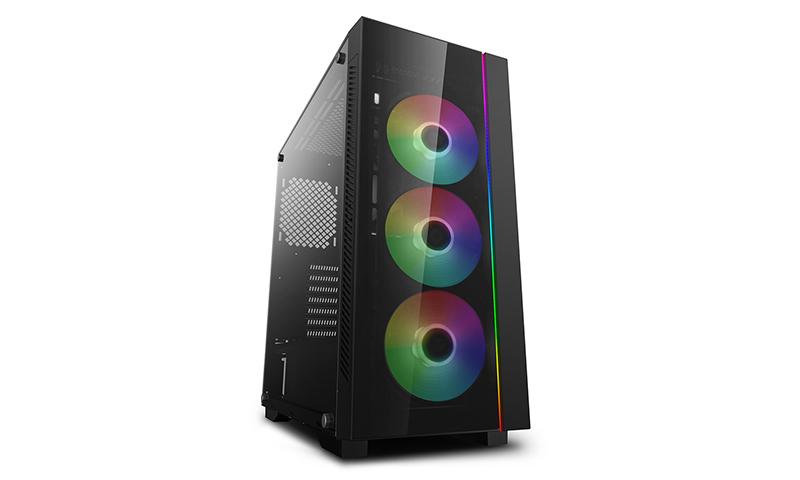 Deepcool MATREXX 55 V3 ADD-RGB 3F Side window, E-ATX, Power supply included No
