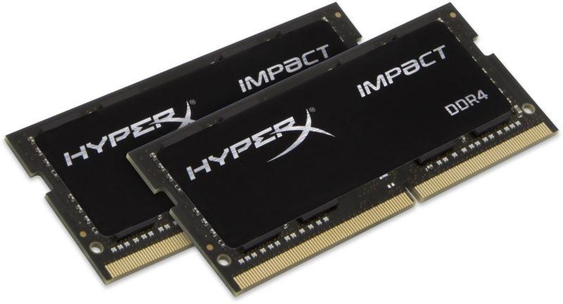 Kingston HyperX Impact 16 GB, DDR4, 2666 MHz, Notebook, Registered No, ECC No