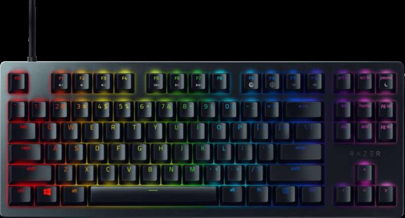 Razer Huntsman Tournament Optical Gaming Keyboard, US layout, Wired, Black