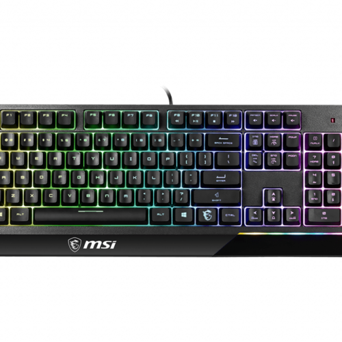 MSI Vigor GK30 Gaming Keyboard, US Layout, Wired, Black