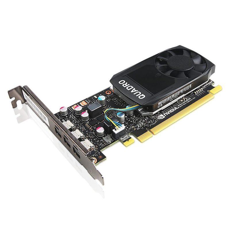 Lenovo ThinkStation Nvidia Quadro P400 Nvidia, 2 GB, Quadro P400, GDDR5, Mini DP Graphics Card with HP Bracket (high-profile bracket), for Tower models, PCI Express 3.0*16