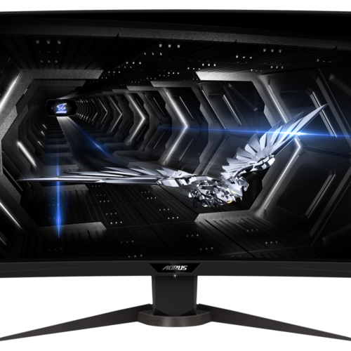"Gigabyte Curved Gaming Monitor AORUS CV27Q-EK 27 "", VA, QHD, 2560 x 1440 pixels, 1 ms, 400 cd/m², Black"