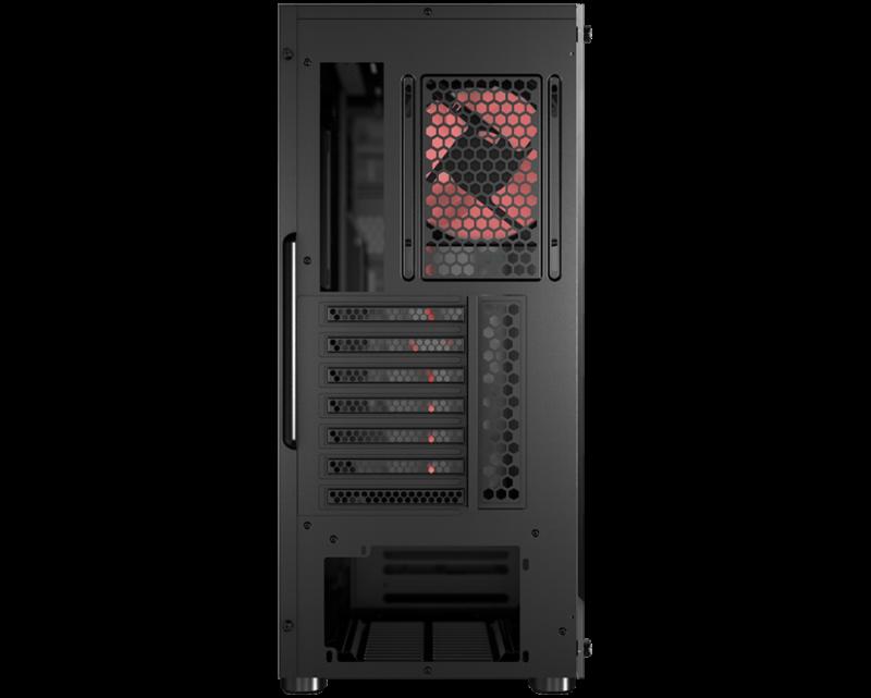 MSI MAG VAMPIRIC 010M PC Case, Midi-Tower, USB 3.2, Black