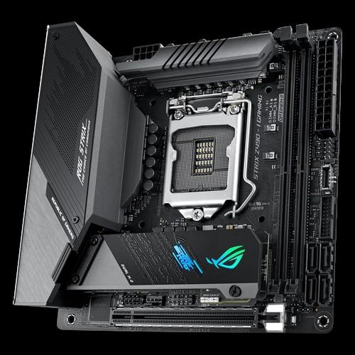 Asus ROG STRIX Z490-I GAMING Memory slots 2, Processor family Intel, Mini ITX, DDR4, Processor socket LGA1200, Chipset Intel Z