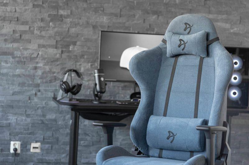 Arozzi Gaming chair, Torretta Soft Fabric, Blue