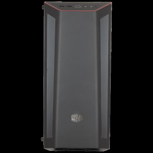 Cooler Master MasterBox MB510L Black, Red trim, ATX, Micro ATX, Mini ITX, Power supply included No