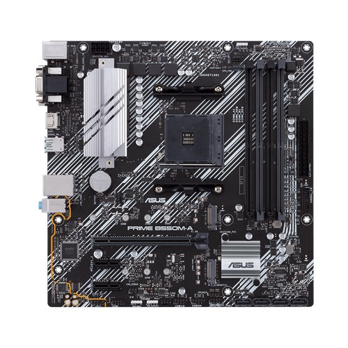 Asus PRIME B550M-A (WI-FI) Memory slots 4, Processor family AMD, Micro ATX, DDR4, Processor socket AM4, Chipset AMD B