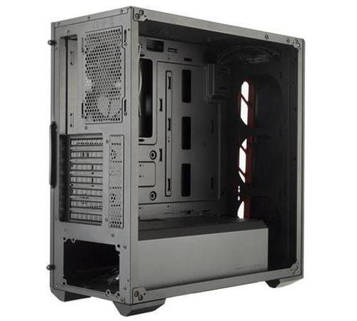 Cooler Master MasterBox MB510L MCB-B510L-KANN-S03 Side window, Black/Blue, ATX, Power supply included No
