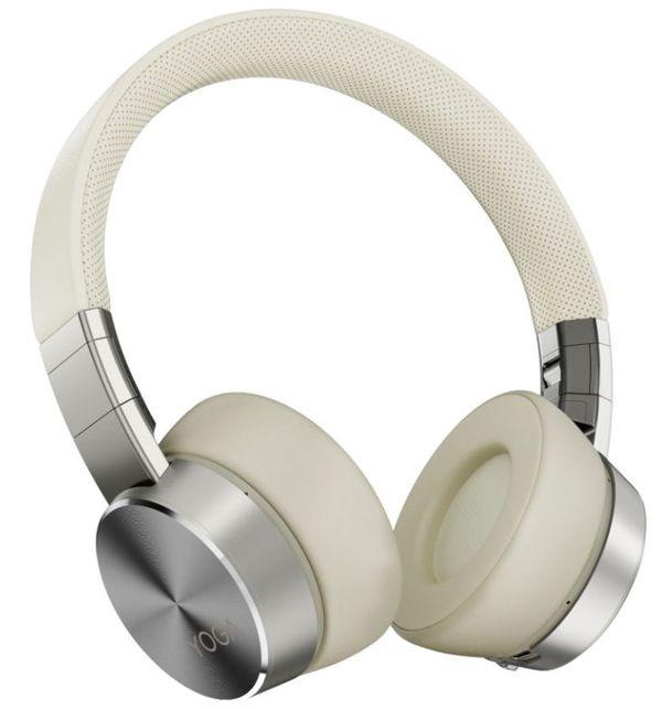Lenovo Yoga Active Noise Cancellation Headphones-ROW Bluetooth 5.0; USB digital audio, Mica, ANC