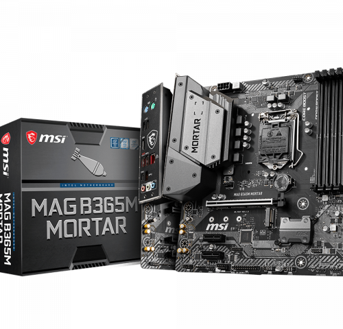 MSI MAG B365M MORTAR Processor family Intel, Processor socket LGA1151, DDR4, Memory slots 4, Chipset Intel B, Micro ATX