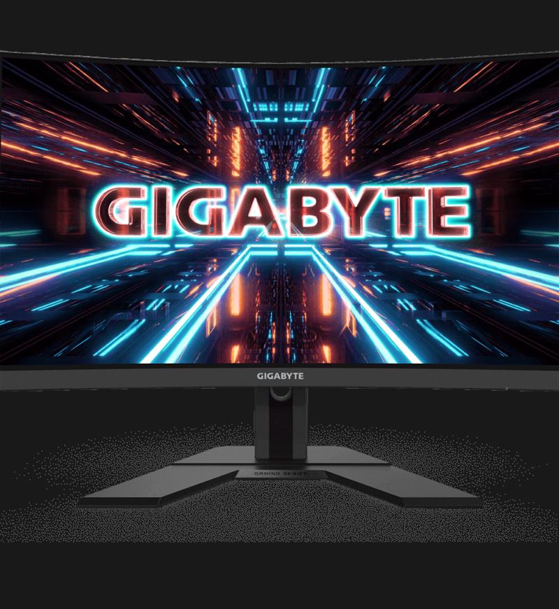 "Gigabyte Curved Gaming Monitor G27FC-EK 27 "", VA, FHD, 1920 x 1080 pixels, 1 ms, 250 cd/m², Black"