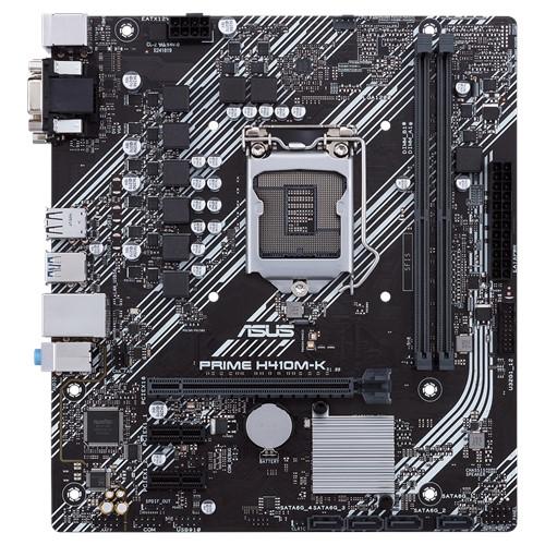 Asus PRIME H410M-K Processor family Intel, Processor socket LGA1200, DDR4, Memory slots 2, Chipset Intel H, Micro ATX