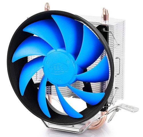 "Deepcool ""Gammaxx 200T"" universal cooler, 2 heatpipes, 120mm PWM fan,  Intel Socket LGA115X / 775, 95 W TDP and AMD Socket FMxx/AMxx, 100W TDP  Cooler"