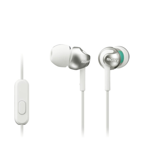 Sony In-ear Headphones EX series, White Sony MDR-EX110AP In-ear, White
