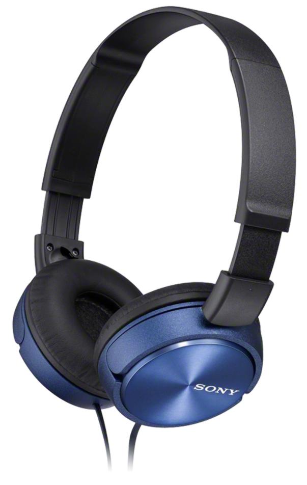 Sony Foldable Headphones MDR-ZX310 Headband/On-Ear, Blue