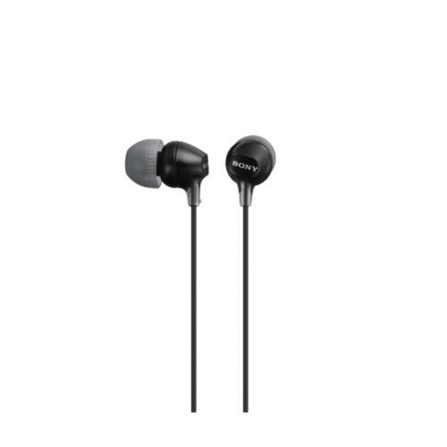 Sony EX series MDR-EX15AP In-ear, Black