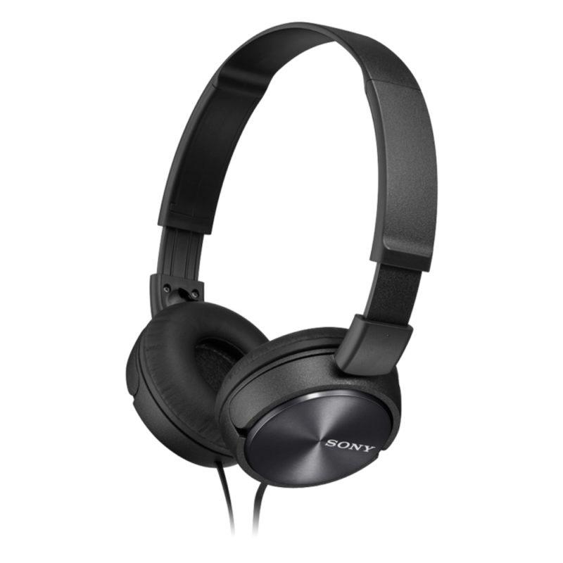 Sony Foldable Headphones MDR-ZX310 Headband/On-Ear, Black