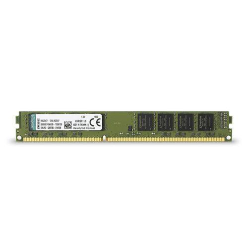 Kingston 8 GB, DDR3, 1600 MHz, PC/server, Registered No, ECC No