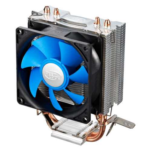 "Deepcool  ""Ice Edge Mini FS"" universal cooler, 2 heatpipes, Intel Socket LGA1156 /1155/ 775 and AMD Socket FM1/AM3+/AM3/AM2+/AM2/940/939/754 deepcool ""Iceedge mini FS""  Universal"
