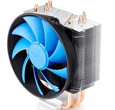 "deepcool Deepcool ""Gammaxx 300"" cooler, 3 heatpipes, Intel Socket LGA1366 /115x/ 775, 125 W TDP and AMD Socket FMx+/AMx+/940/939/754, 130W TDP universal"