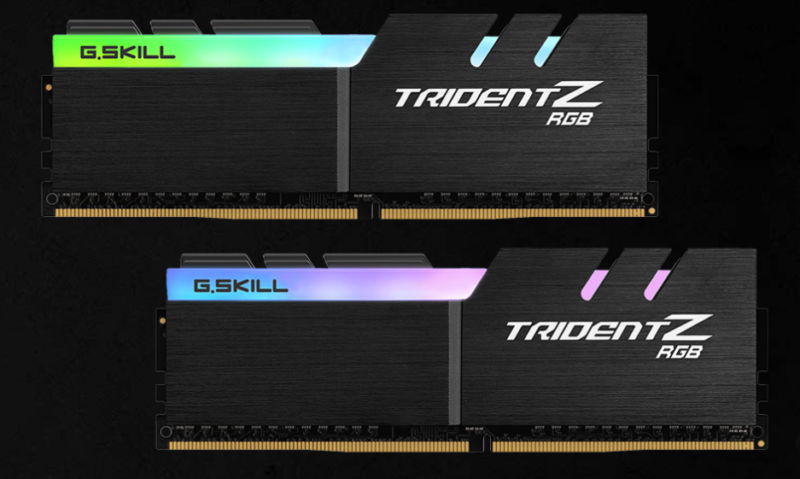 G.Skill Trident Z RGB  16 GB, DDR4, 3200 MHz, PC/server, Registered No, ECC No