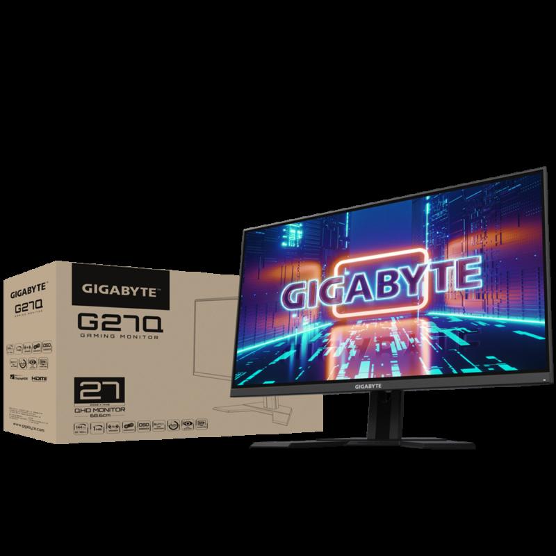 "Gigabyte Gaming Monitor G27Q-EK 27 "", QHD, 2560 x 1440 pixels"