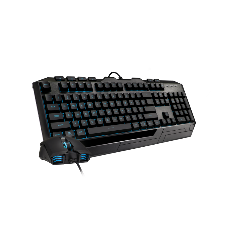 Cooler Master Gaming Combo With Color Devastator 3 Plus Gaming set (Keyboard and mouse), Wired, Keyboard layout US, RGB LED light, USB, Numeric keypad