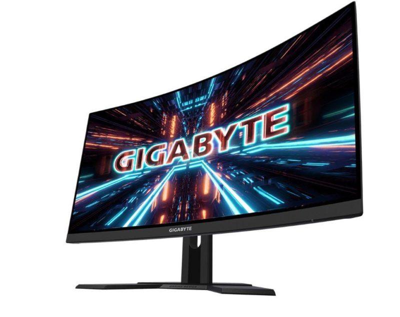 """Gigabyte Curved Gaming Monitor G27QC-EK 27 """", VA, QHD, 2560 x 1440 pixels, 1 ms, 250 cd/m², Black"""