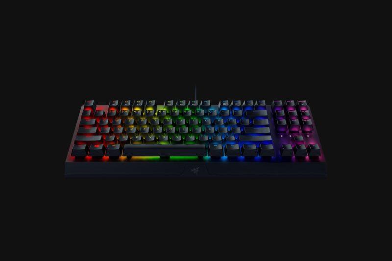 Razer BlackWidow V3, Gaming keyboard, RGB LED light, US, Black, Wired