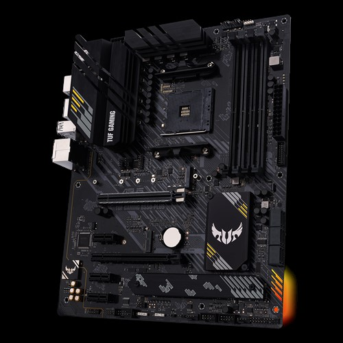 Asus TUF GAMING B550-PLUS Memory slots 4, Processor family AMD, ATX, DDR4, Processor socket AM4, Chipset AMD B