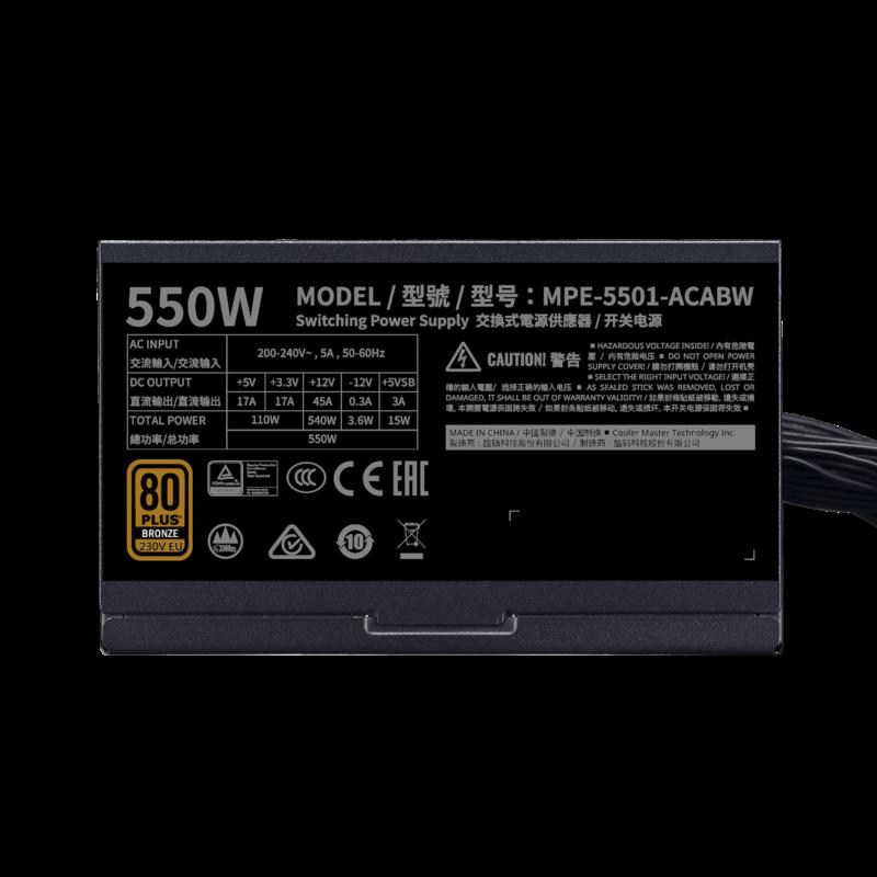Cooler Master MPE-5501-ACABW-B 550 W