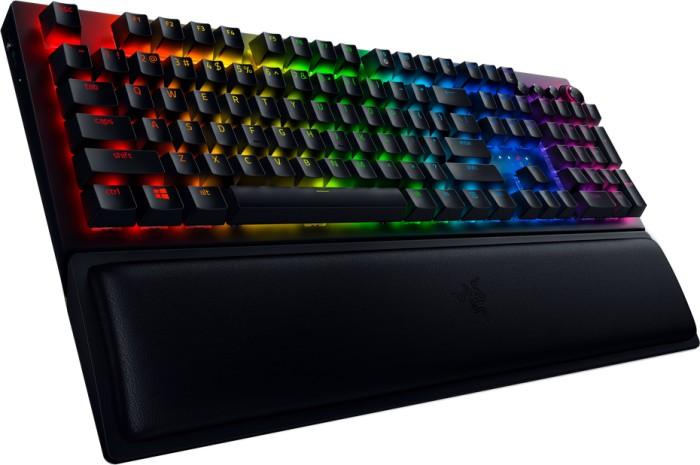 Razer BlackWidow V3 Pro Mechanical Gaming Keyboard, RGB LED light, US, Wireless/Wired, Black
