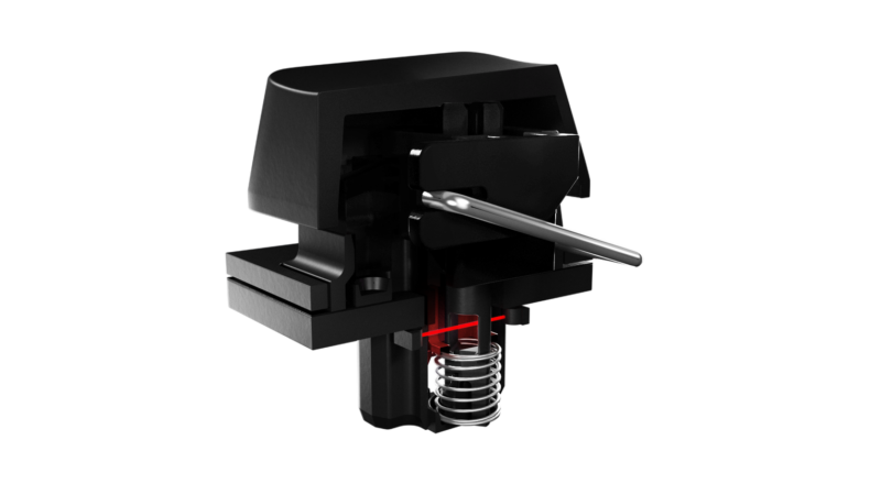 Razer Huntsman V2, Optical Gaming Keyboard, RGB LED light, Nordic, Black, Wired
