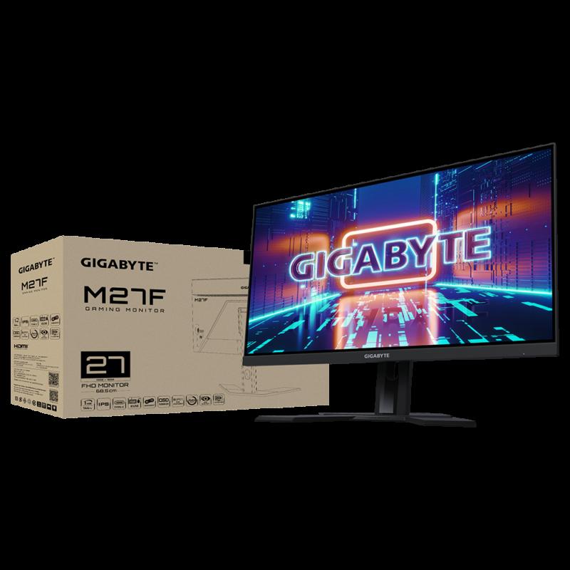 "Gigabyte Gaming Monitor M27F-EK 27 "", FHD, 1920 x 1080 pixels"
