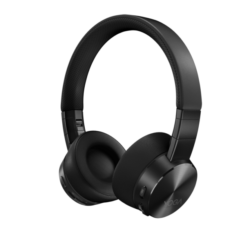Lenovo Active Noise Cancellation Headphones Yoga Bluetooth 5.0; USB digital audio, Shadow Black, ANC