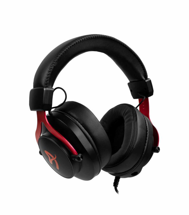 Arozzi Gaming Headset Aria 3.5mm, Red